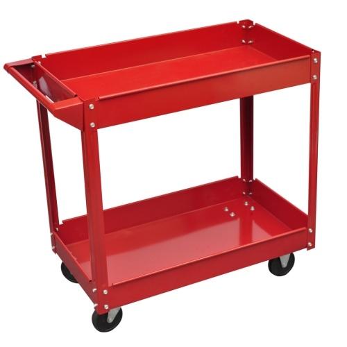 Мастерская Инструмент вагонетки 100 кг Красный