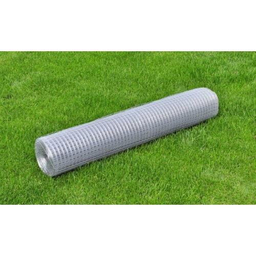Square Wire Netting 1x10 m Galvanized Thickness 0,7 mm