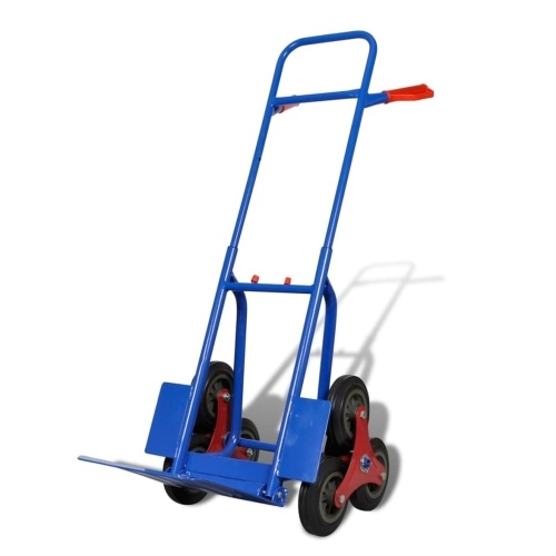 6 ruote blu-rosso Sacco camion con 200 kg Capacità