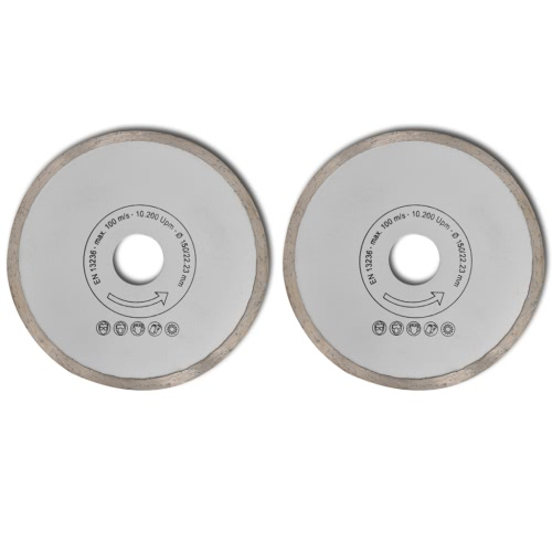 Diamante viu a lâmina aro contínuo 150 mm 2pcs