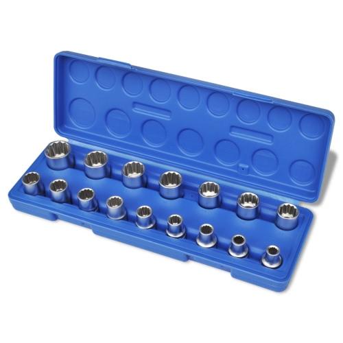 12-Angolo Viti di fermo a 16 pezzi con Storage Case