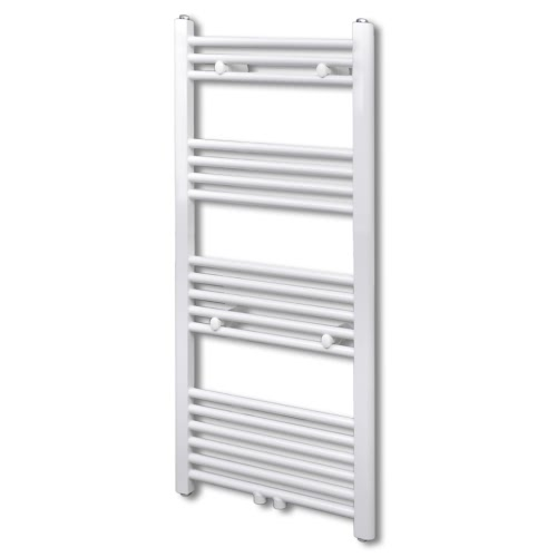 Bathroom Central Heating Towel Rail Radiator Straight 500 x 1160 mm