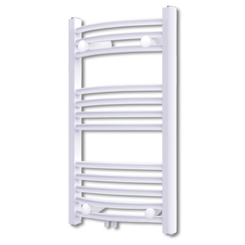 Bathroom Radiator Central Heating Towel Rail Curve 500 x 764 mm