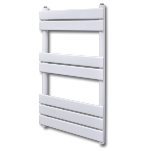 Bathroom Central Heating Towel Rail Radiator Straight 500 x 800 mm
