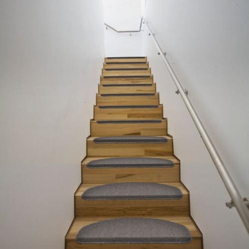Mocha Stair Carpet 64,5 x 25,5 cm 15 pcs