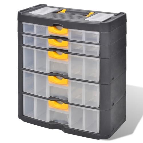 Caso strumento 5 cassetto strumento di archiviazione