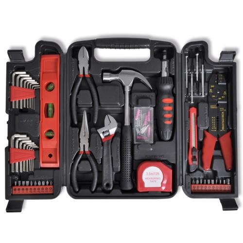 88 pcs Tool Set in Black Case