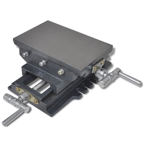 Manually Operated Cross Slide Vice Table