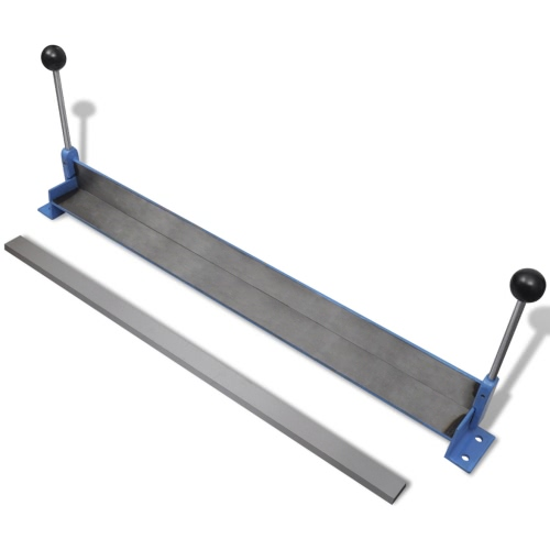 Obsługiwane ręcznie blachy stalowej Falcerka 760 mm