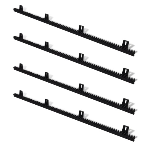 4 pcs Nylon Rack for Sliding Gate Opener