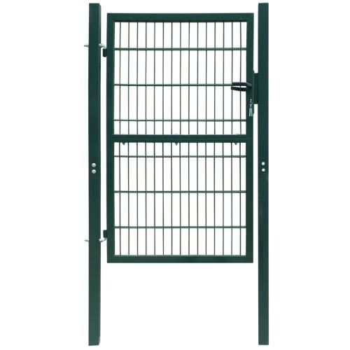 2D заборные ворота (Single) Зеленый 106 х 210 см