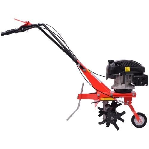benzina Coltivatore Tiller 5 CV 2,8 kW Red