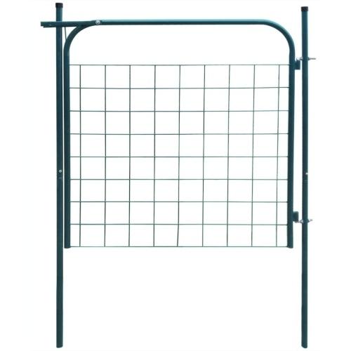 Garden Fence Gate 100x100 cm Verde