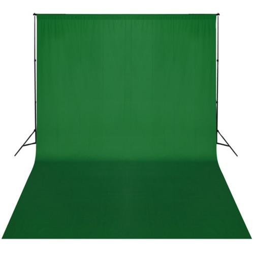 Grün-Hintergrund-Support-System 300 x 300 cm