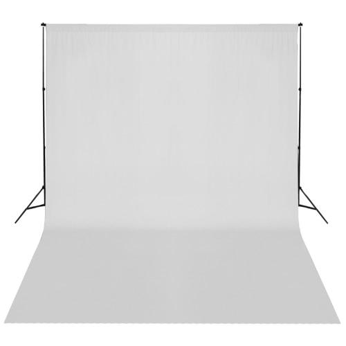 Weißer Hintergrund Support-System 300 x 300 cm