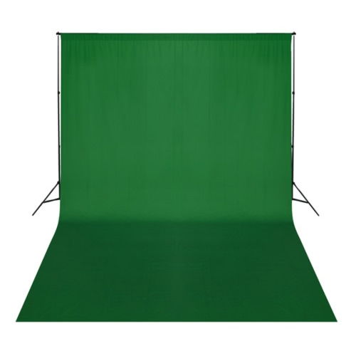 Green Backdrop 500 x 300 cm Chroma key UK