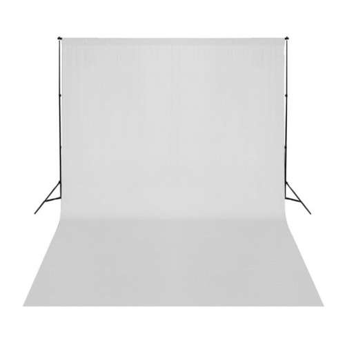 White Backdrop 500 x 300 cm UK
