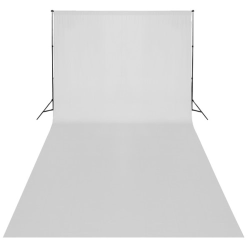 White Backdrop XL 600 x 300 cm UK
