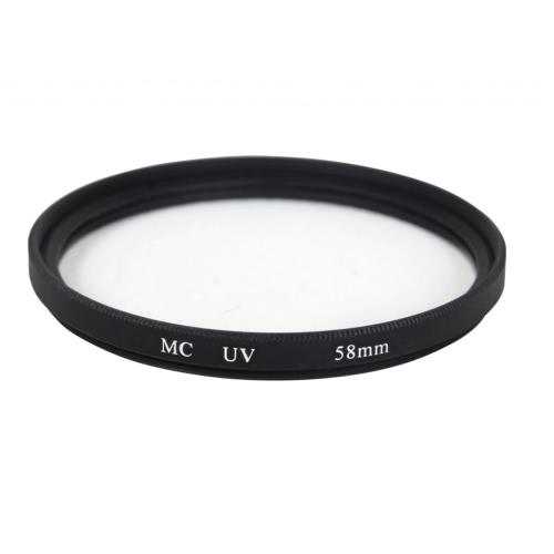 Filtro UV de 58mm