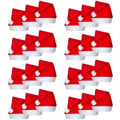 24 bonnets de Noël
