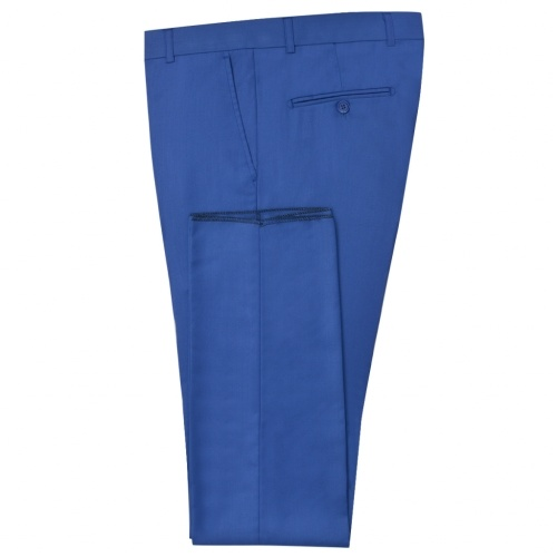 Мужской 2-Piece Suit Royal Blue Размер 52