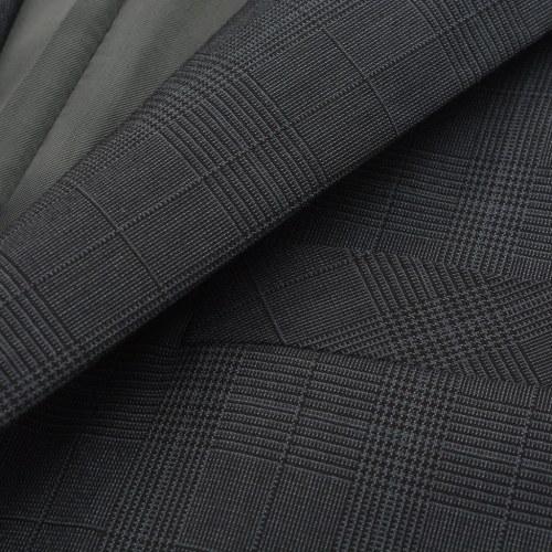 men's 2 piece suit tiles anthracite size 46