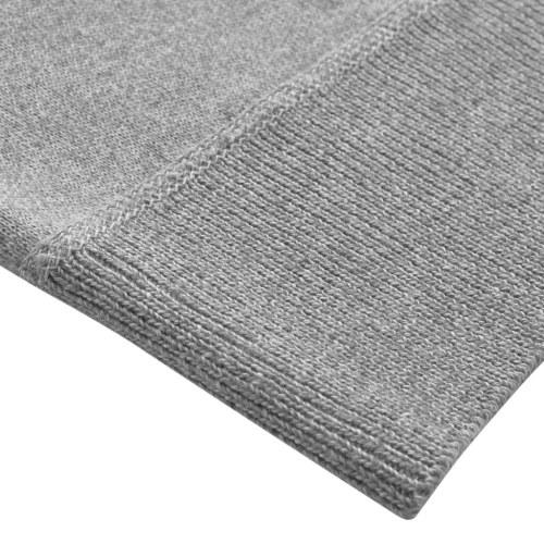 Maglione con zip grigio da uomo, taglia M