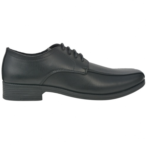 Lace-up shoes for men Black Size 41 PU leather