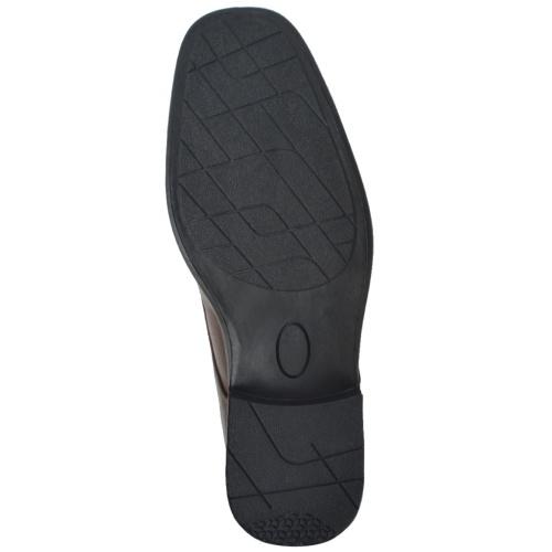 Schnürschuhe für Herren Braun Größe 43 PU-Leder