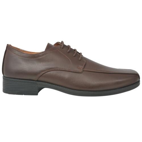 Мужские шнурки для обуви Brown Размер 45 Кожа PU