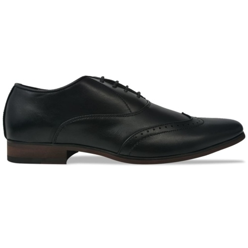 Scarpe stringate per uomo Black Size 41 PU leather