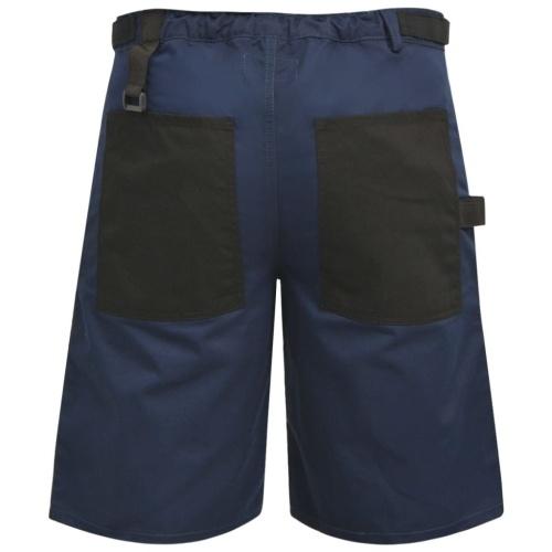 Pantaloni da lavoro corti da uomo taglia L Blu