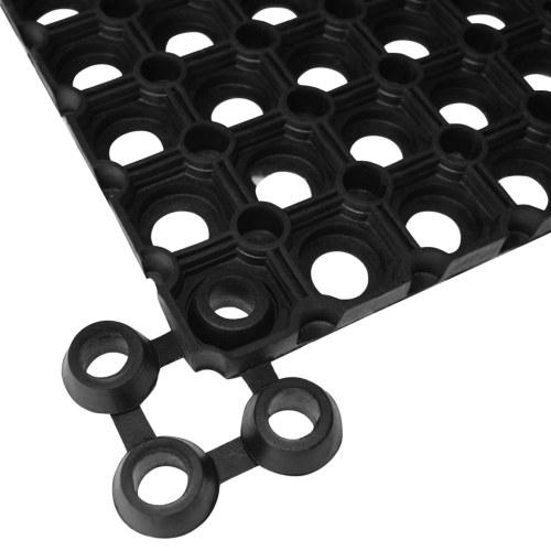 Tappeto 5 pezzi in gomma 22 mm 40 x 60 cm