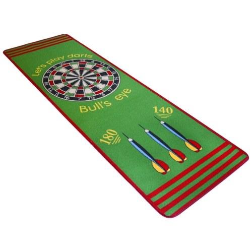 Gioca a Mat Daring Pattern 79 x 237 cm Verde e Rosso
