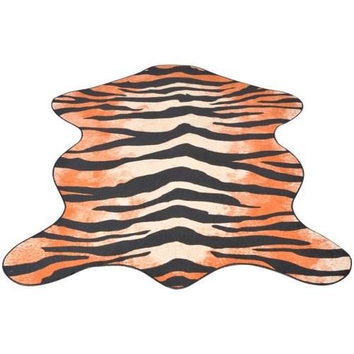 Tappeto profilato 150 x 220 cm Stampa tigre