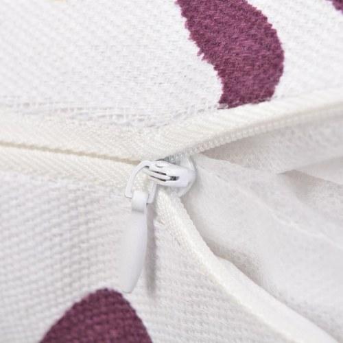 Декоративная подушка 2 шт. Холст Печатный цветок 45 х 45 см