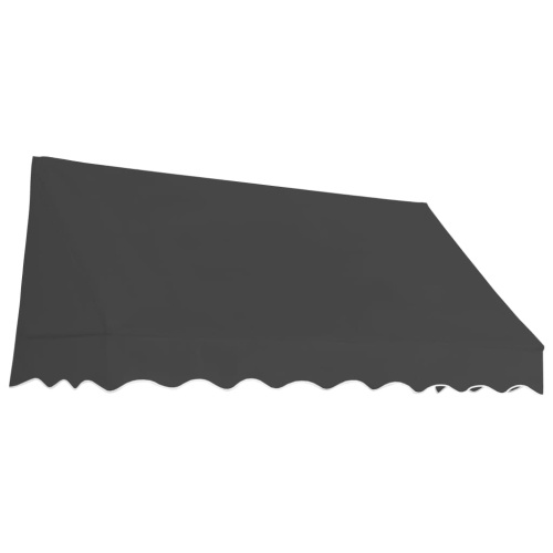 Store Banne Auvent de bistro 200x120 cm Anthracite
