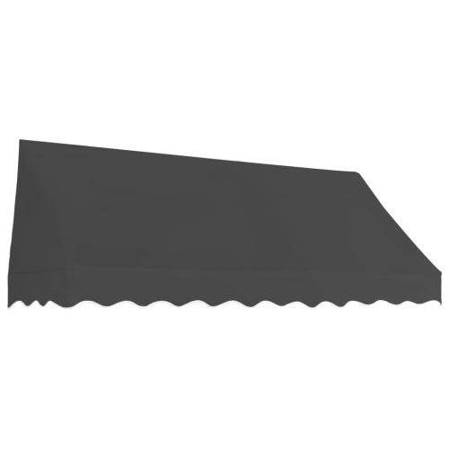 Store Banne Auvent de bistro 250x120 cm Anthracite