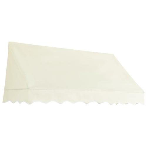 Store Banne Auvent de bistro 200x120 cm Crème
