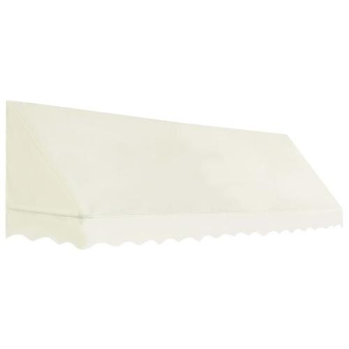 Store banne Auvent de bistro 350x120 cm Crème