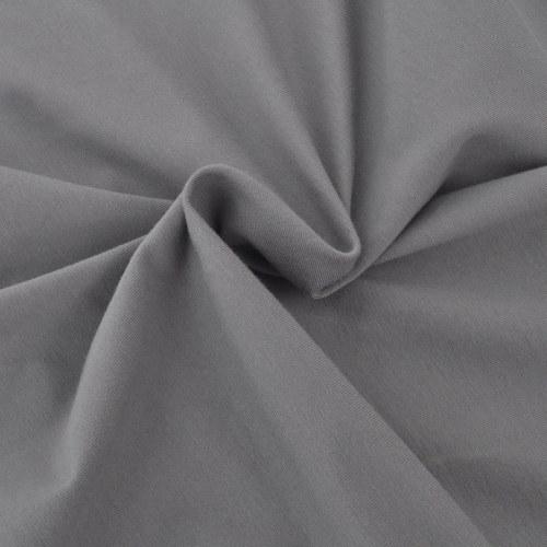 manicotto elastico divano jersey di cotone grigio