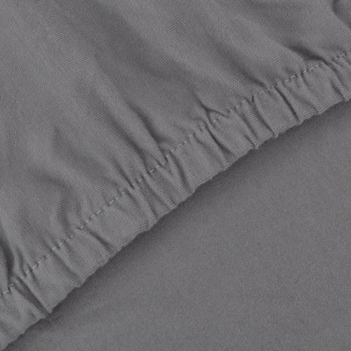 Sofa elastische Manschette Baumwolle grau stricken