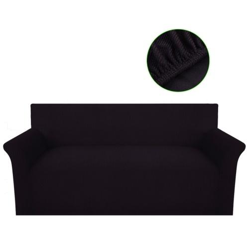braun elastische Manschette Polyestergewebe für das Sofa stricken