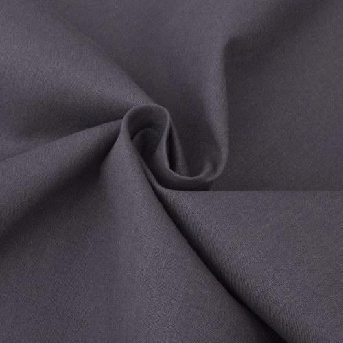 cotton fabric anthracite 1,45x20 m