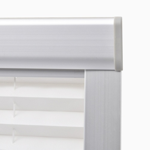 white color pleated blind c04 / ck04