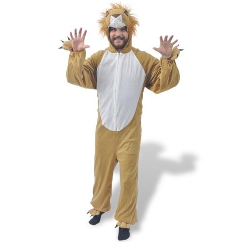 costume di carnevale leone ML