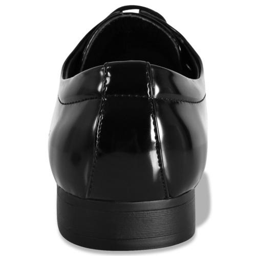 Schwarzes Smoking Kleid Schuhe Größe 41