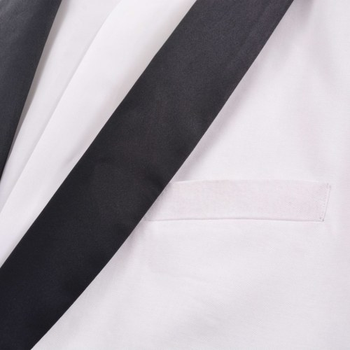 2 pieces men's suit / Tuxedo size 52 white