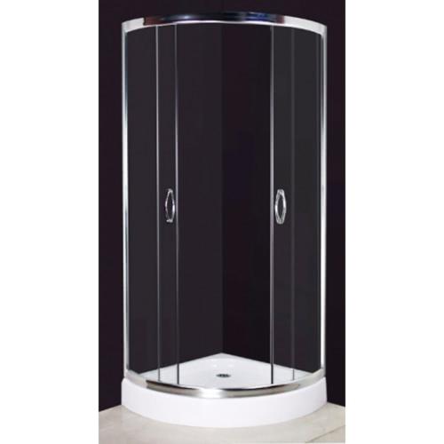 Dusche 80 x 80 cm Gebogene