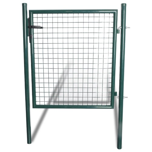Steel Green Door
